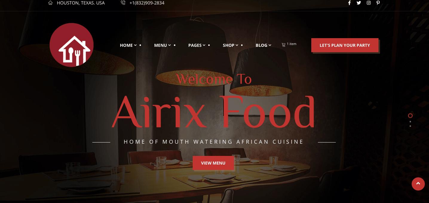 Airix Food